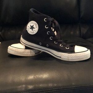 Black All Star Converse